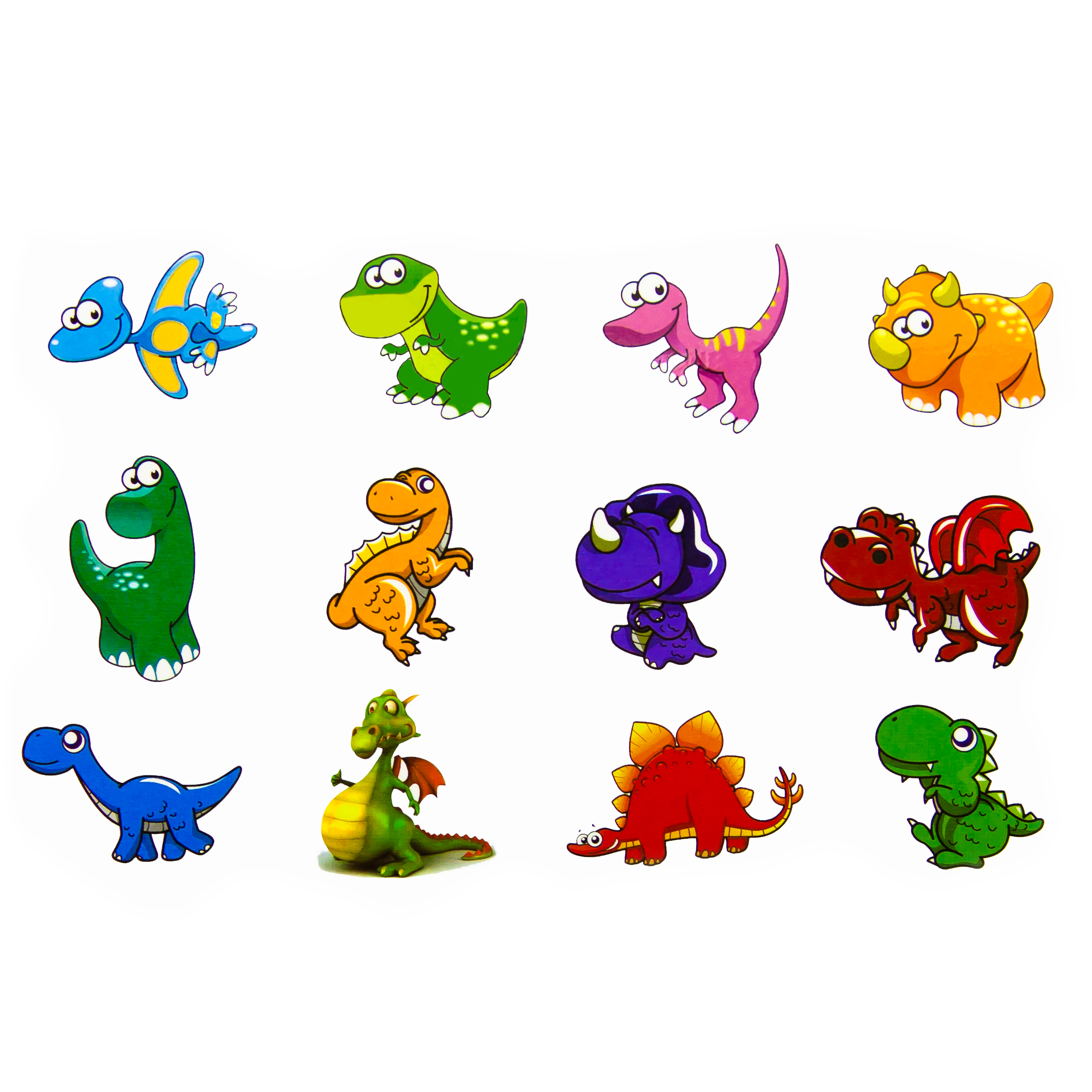dino tattoo f r kinder 24 st ck kinder tattoos spielen ebay. Black Bedroom Furniture Sets. Home Design Ideas